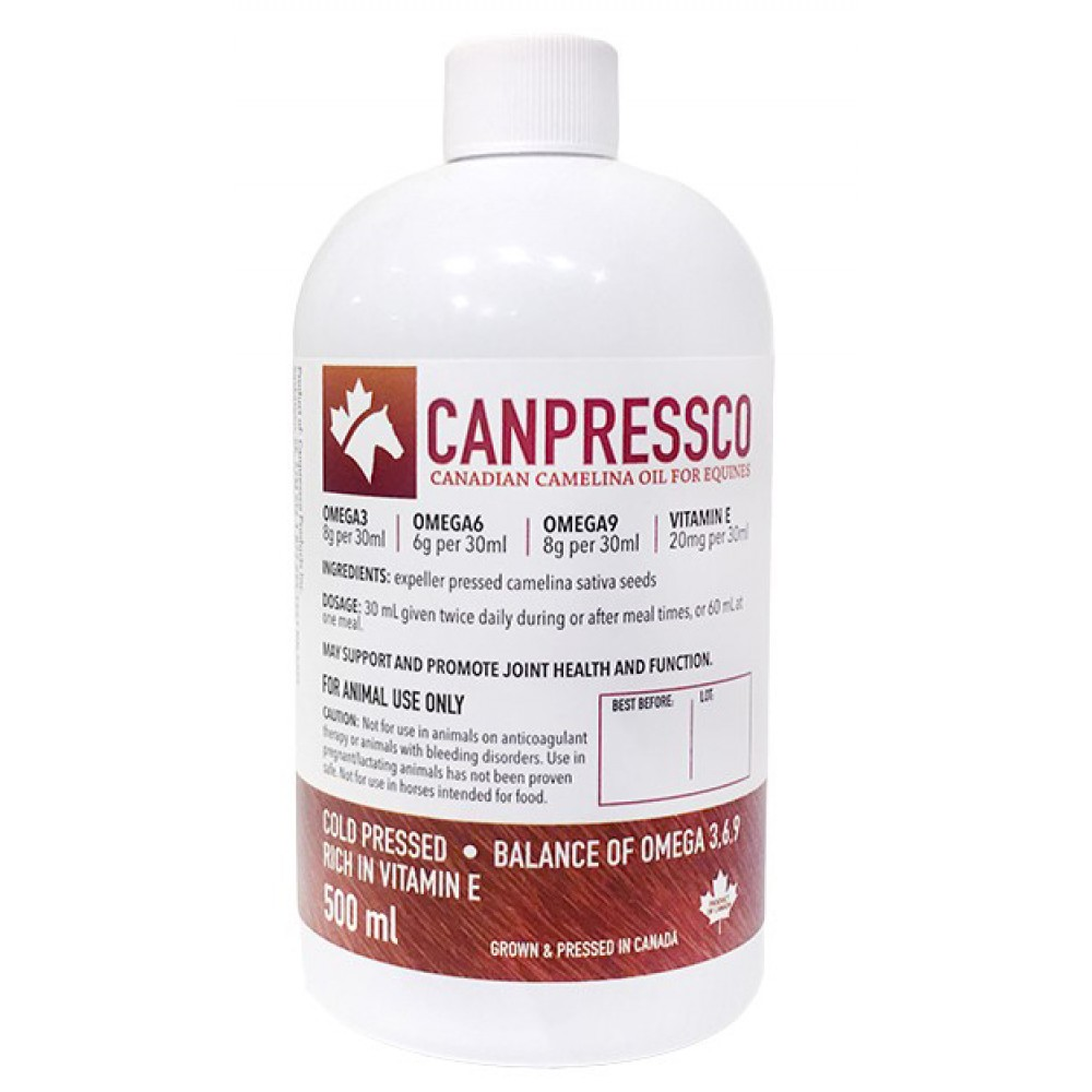 camelina oil for horses canada