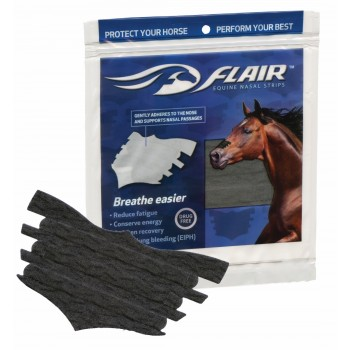 FLAIR EQUINE NASAL STRIPS, PACKAGE OF 6