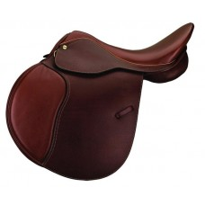 HDR ADVANTAGE CROSS COUNTRY ALL PURPOSE SOFT FLAP SADDLE,PRINTED OAKBARK