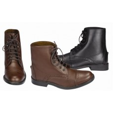 TUFFRIDER CHILDS STARTER SYNTHETIC LACED PADDOCK BOOT