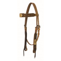 SIERRA OAKLEY BROWBAND HEADSTALL, LIGHT HARNESS