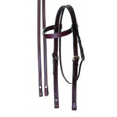 SIERRA DRAFT RIDING BRIDLE WITH REINS