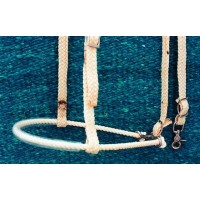 SIERRA WAXED 1/2 inch NOSEBAND without TIEDOWN