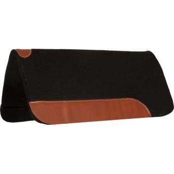 MUSTANG WESTERN FELT PAD, 1 INCH BLACK FELT, 32X32