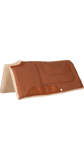 MUSTANG CANVAS CUTBACK BUILT UP PAD, 1 INCH, 32X32