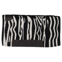 SIERRA NEW ZEALAND WOOL PAD, ZEBRA BLACK/WHITE