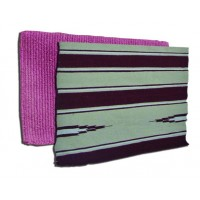 SIERRA COTTON/ACRYLIC SADDLE BLANKET, 32 in x 32 in