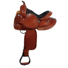 SIERRA PONY SADDLE, SOFT CHESTNUT