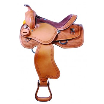 SIERRA FARGO PLEASURE SADDLE, NUT BROWN
