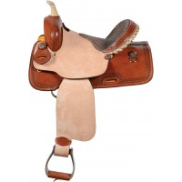 SIERRA GATOR BARREL SADDLE, MEDIUM OIL