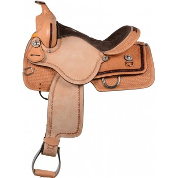 SIERRA GONZALES BARREL SADDLE, LIGHT OIL