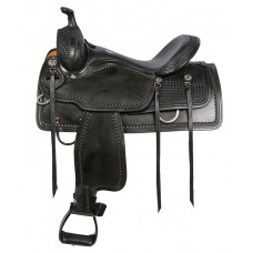 SIERRA SYLVESTER TRAIL SADDLE, BLACK