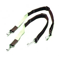SIERRA 1 inch ADJUSTABLE WEB SIDE REINS, BROWN