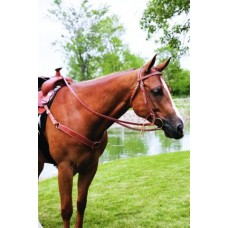 SIERRA DOUBLE & STITCHED HARNESS BROW HEADSTALL