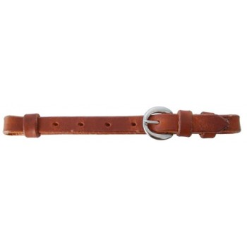 SIERRA HARNESS LEATHER CURB STRAP, LIGHT OIL