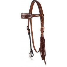 SIERRA BUTTERFLY BROW HEADSTALL, WATER TIES