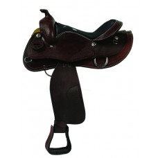 SIERRA KNOX PLEASURE SADDLE, DARK BROWN