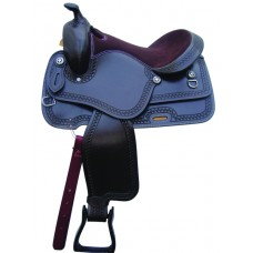 SIERRA COLE PLEASURE SADDLE, DARK BROWN