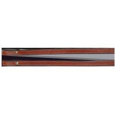 SIERRA PLAIN DRAFT REINS, 93 inches, SOFT CHESTNUT