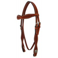 SIERRA PLAIN BASKETWEAVE HEADSTALL