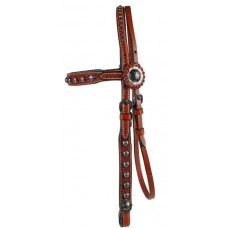 SIERRA FLOWER & SPOTS BROW HEADSTALL