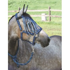 CAVALIER THREE CHECK CLARINO PADDED HALTER and LEAD