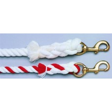 CAVALIER ROPE LEAD SOLID BRASS SNAP, 3/4 in x 10 ft