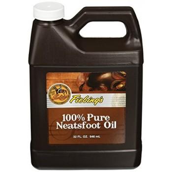 FIEBINGS 100% PURE NEATSFOOT OIL, 946 ML