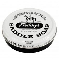 FIEBINGS WHITE SADDLE SOAP, 100 GM