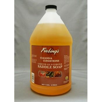 FIEBINGS GLYCERINE LIQUID SADDLE SOAP, 3.78 L