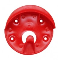 CAVALIER PLASTIC BRIDLE BRACKET, RED