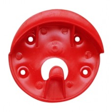 CAVALIER PLASTIC BRIDLE BRACKET, RED
