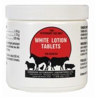 PHARM-VET WHITE LOTION TABLETS, 100 TABS