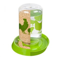 MANNA PRO WATERER/FEEDER, REVERSIBLE