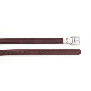 PESSOA STIRRUP LEATHERS WITH METAL CLASP END