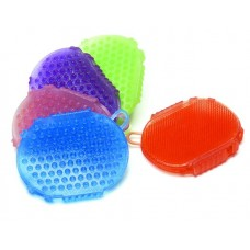 EQUI-STAR JELLY GLITTER TWO-SIDED SCRUBBER