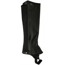 OVATION PRO TOP GRAIN RIBBED HALF CHAPS