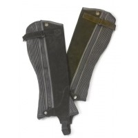 OVATION CHILDS SUEDE RIBBED HALF CHAPS