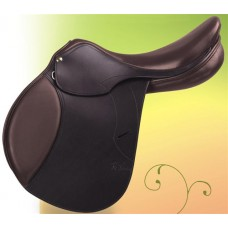 PESSOA GEN-X ELITA SADDLE with XCHANGE, WAXY GRAINED DARKHAVANA