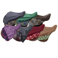 CENTAUR 420D WATERPROOF PLAID SADDLE COVER