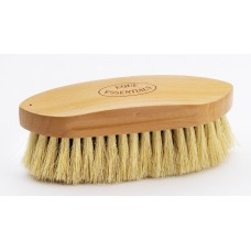 "EQUINE ESSENTIALS WOODBACK DANDY BRUSH WITH MEDIUM STIFF TAMPICO BRISTLES, LARGE - 8"" LONG"