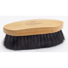 """EQUINE ESSENTIALS WOODBACK DANDY BRUSH WITH SOFT HORSE HAIR BRISTLES, LARGE - 8"""" LONG"""