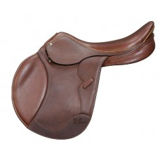 PESSOA GEN-X2 COVERED LEATHER SADDLE with XCHANGE, OAKBARK