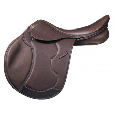 PESSOA HERITAGE PRO COVERED LEATHER SADDLE with AMS PANELS,OAKBARK