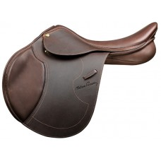 PESSOA HERITAGE PRO SMOOTH LEATHER SADDLE with AMS PANELS,OAKBARK