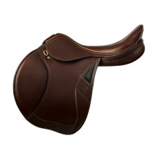 OVATION SAN DIEGO SADDLE with EXCHANGE GULLET, MEDIUM BROWN