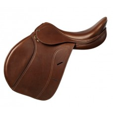 OVATION SAN TELMO SADDLE with EXCHANGE GULLET, MEDIUM BROWN