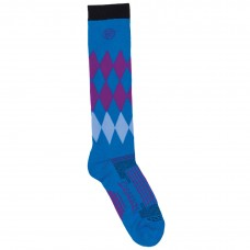 OVATION DRYTEX LADIES HARLEQUIN KNEE-HIGH SOCKS