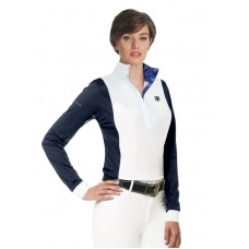 ROMFH COMPETITOR SCHUYLER LONG SLEEVE SHOW SHIRT with MESH SLEEVES
