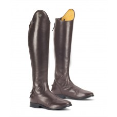 OVATION LADIES MIRABELLA HUNTER DRESS BOOT, CHOCOLATE